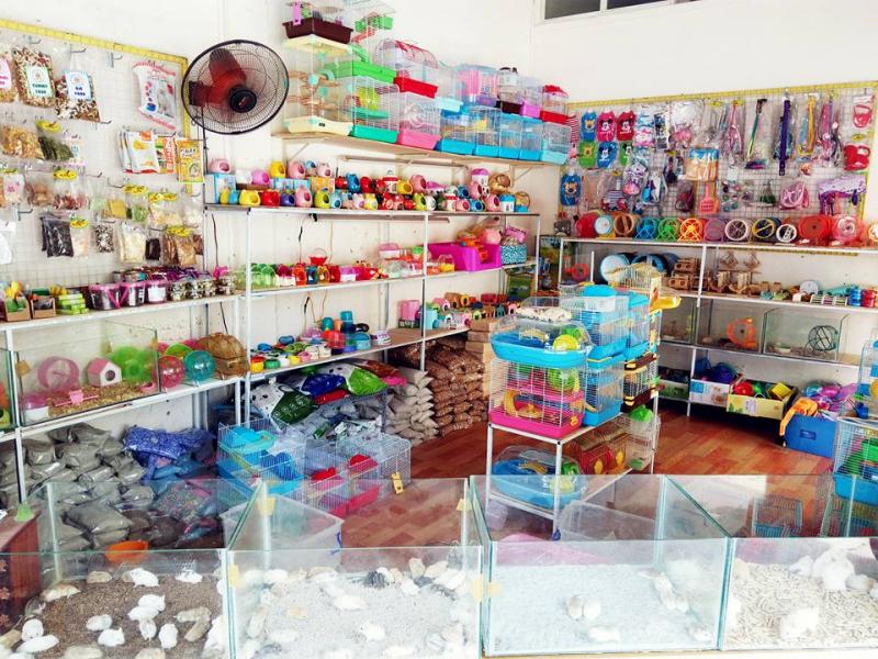 Bụi Hamster Shop