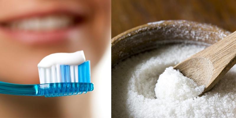 Kem đánh răng giúp trị mụn thịt hiệu quả