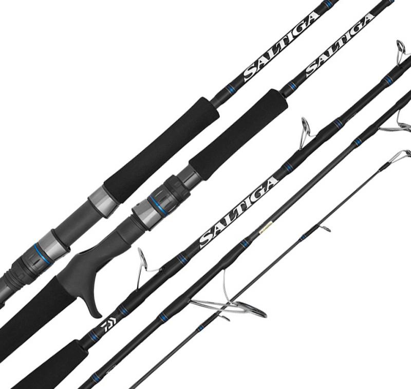 Cần câu cá Daiwa Saltiga C71MLS (3 KHÚC)