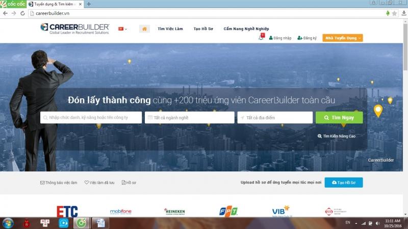Top 10 Website tuyển dụng tốt nhất Việt Nam
