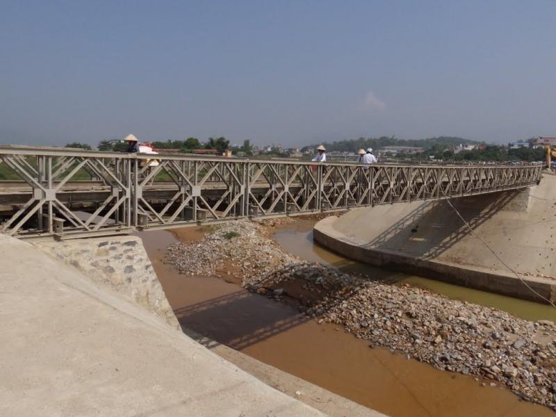Cầu Mường Thanh - cây cầu chứng nhân lịch sử