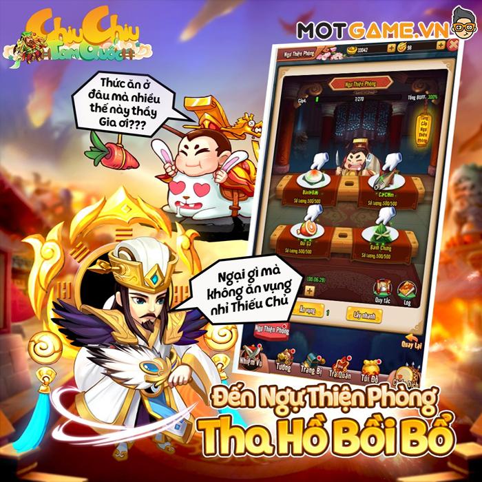 Chiu Chiu Tam Quốc là game đấu tướng 3Q siêu nhẹ siêu đẹp