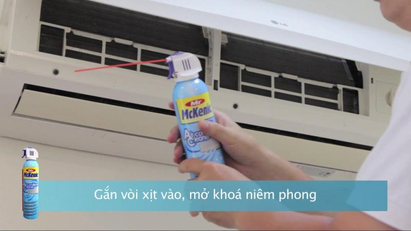 Chai xịt vệ sinh máy lạnh Mckenic