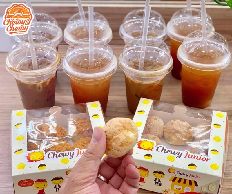 Chewy Chewy - một trong những địa chỉ bán bánh su kem ngon nhất tại Đồng Nai