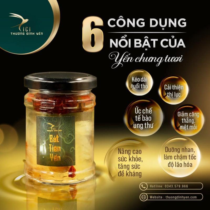 CiCi Thượng Đỉnh Yến - Thương hiệu Yến chưng tươi số 1 Việt Nam
