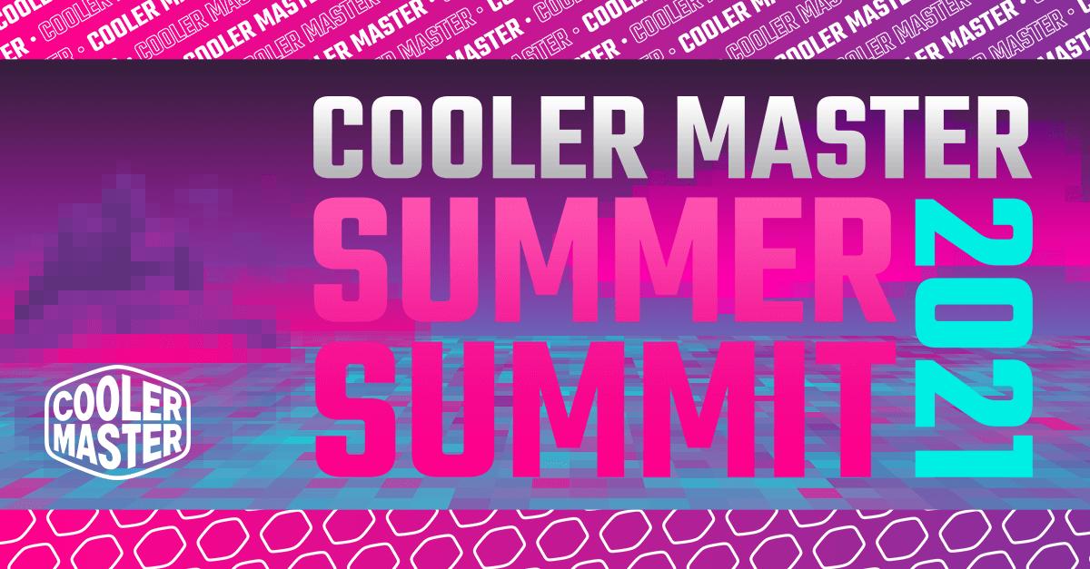 Cooler Master ra mắt loạt sản phẩm mới cho game thủ tại Summer Summit 2021
