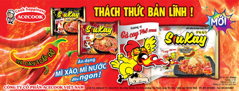 Công ty cổ phần Acecook Việt Nam