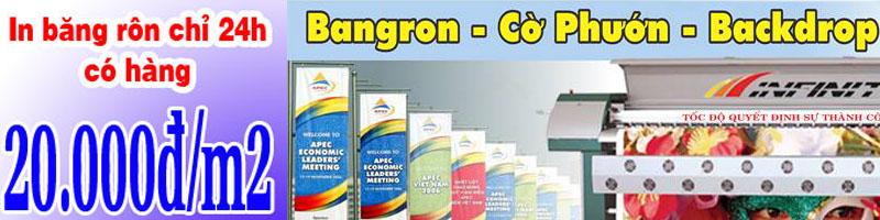 In băng rôn giá rẻ tại TPHCM – lấy liền – chuyên nghiệp tại Quangcaogroup.com