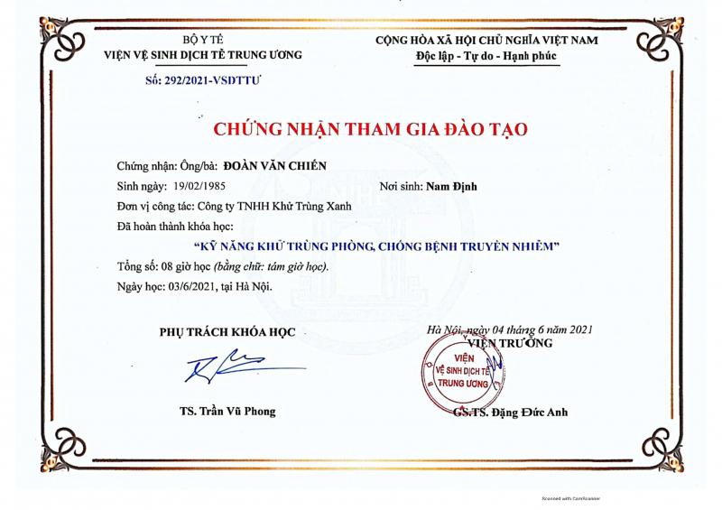 Top 11 Công ty khử trùng diệt khuẩn uy tín nhất tại Việt Nam