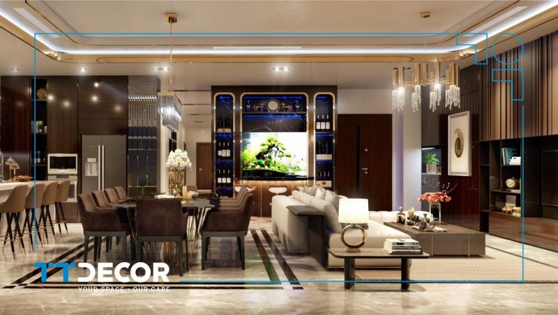 Penthouse Vinhomes Tân Cảng