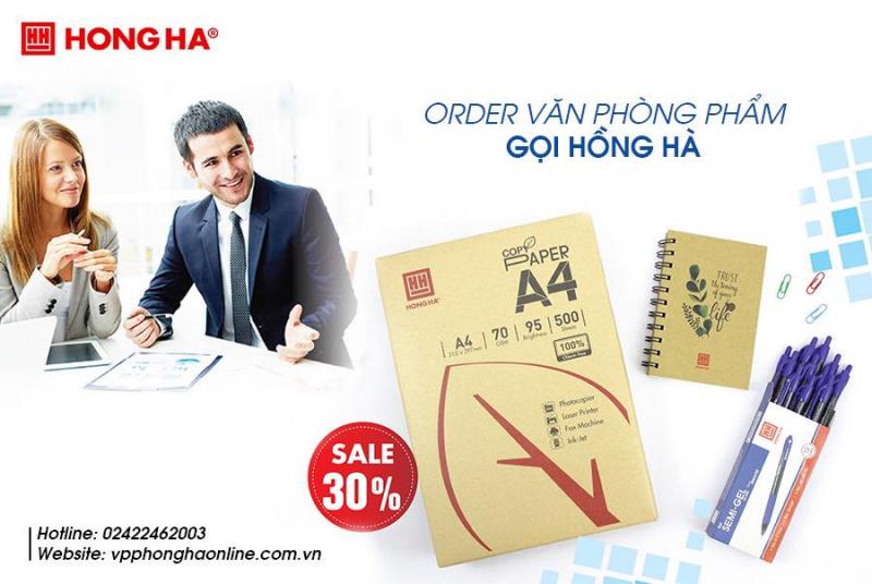 Top 8 Địa chỉ cung cấp giấy in, giấy photocopy tại Hà Nội