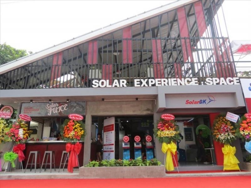 Hệ thống showroom của SolarBK trải dài từ Bắc vào Nam