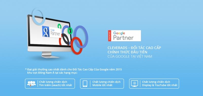 CleverAds là đối tác của Google.