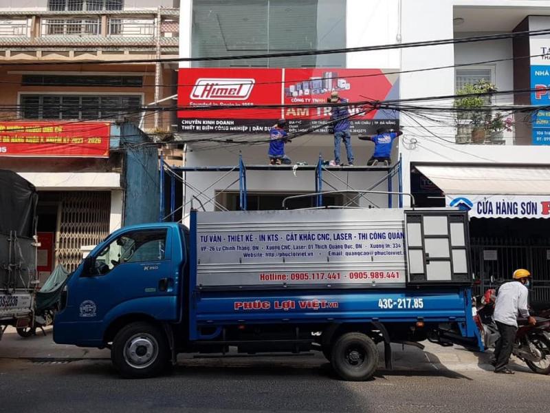 Công ty TNHH quảng cáo Phúc Lợi Việt