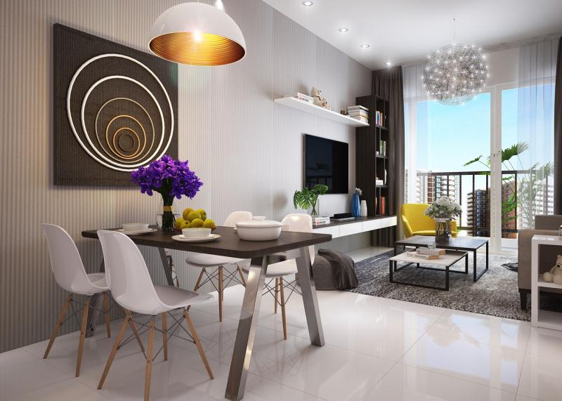 Thiết kế nội thất căn hộ 120 m2 Vista Verde Quận 2