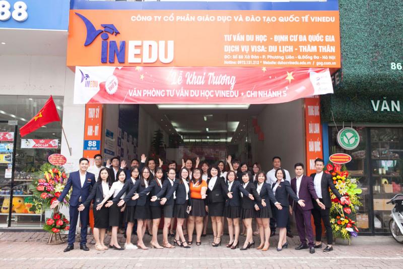 Công ty tư vấn du học VinEdu