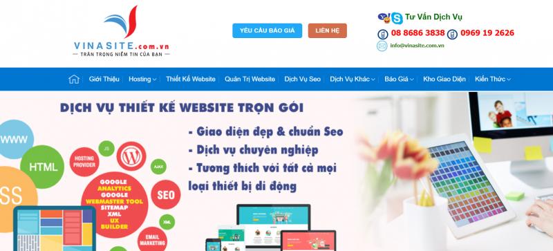 Công Ty Vinasite Việt Nam | Vinasite.com.vn