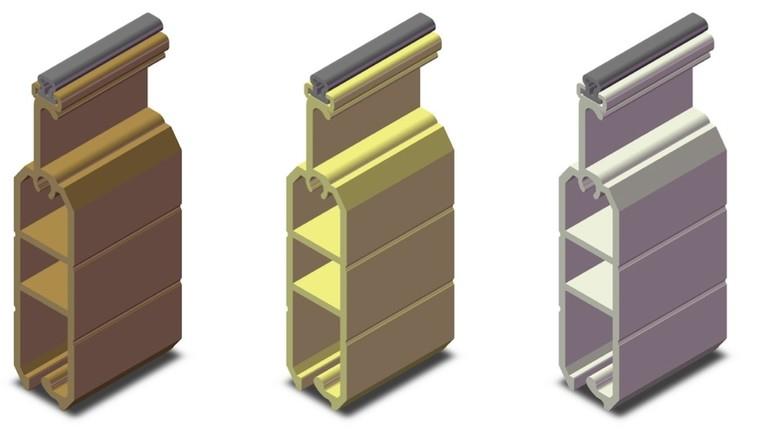 Minh họa các loại cửa cuốn Eurowindow