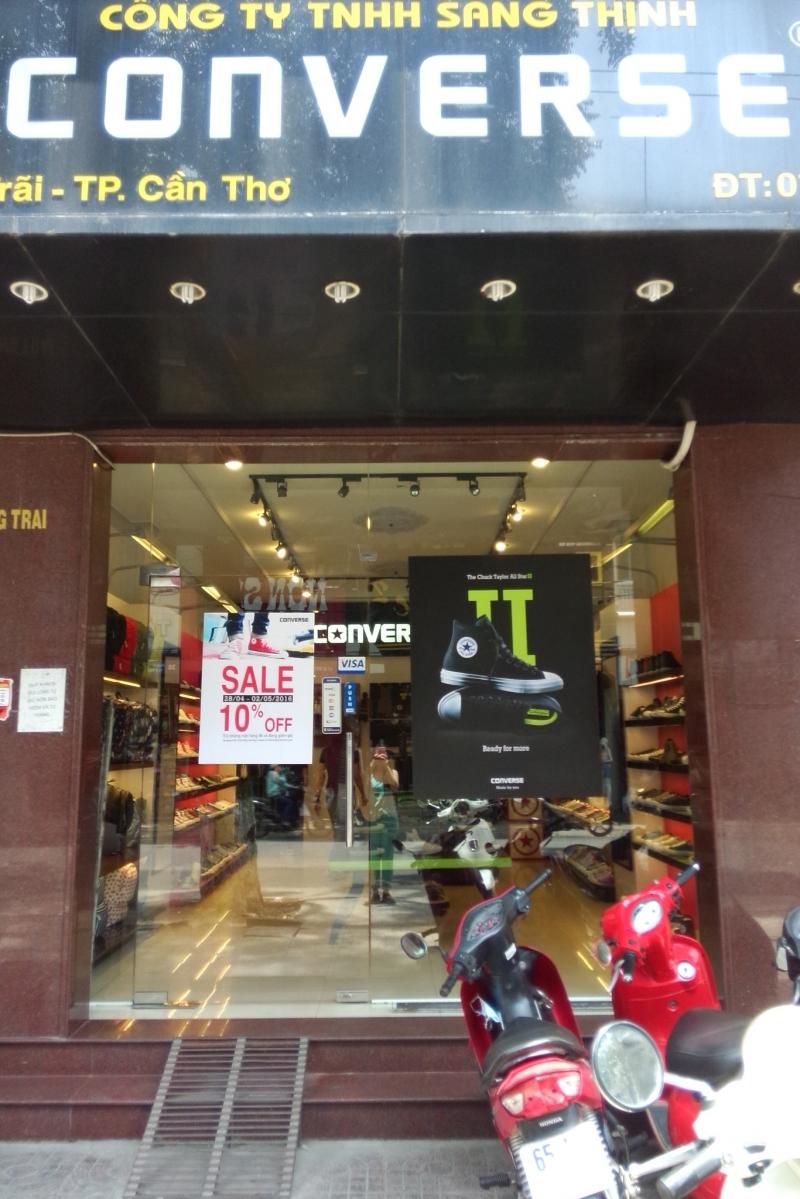 Cửa Hàng Giày Dép Converse tại Cần Thơ