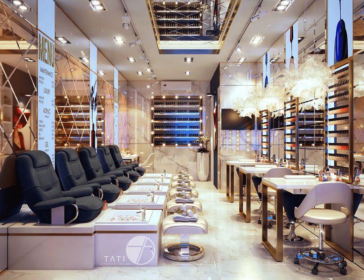 Không gian Cửa hàng phụ kiện nail Choki