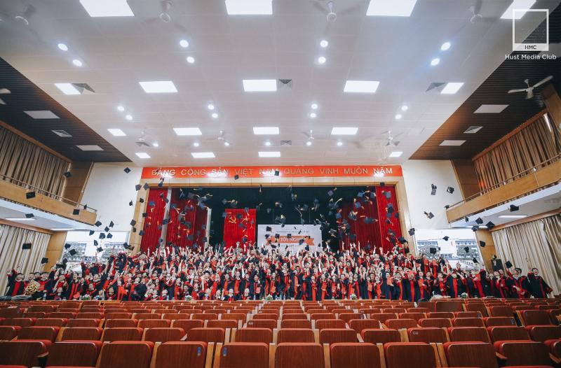 Lễ tốt nghiệp tại ĐH Bách Khoa Hà Nội