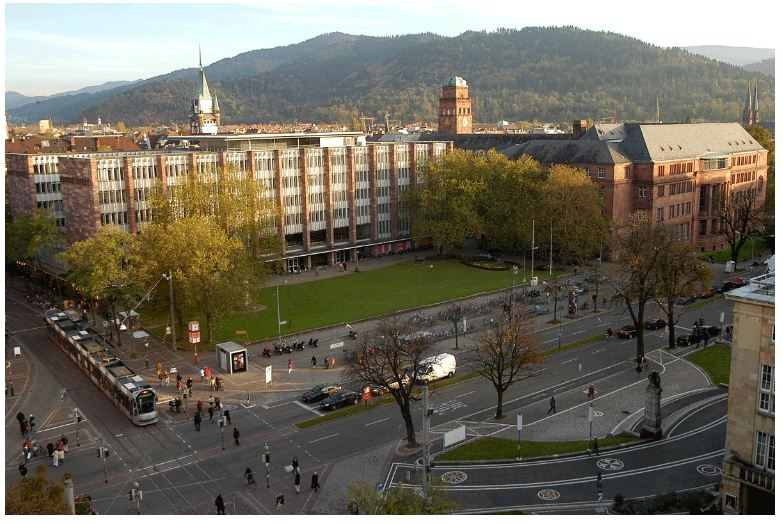 Campus chính của Đại học Freiburg