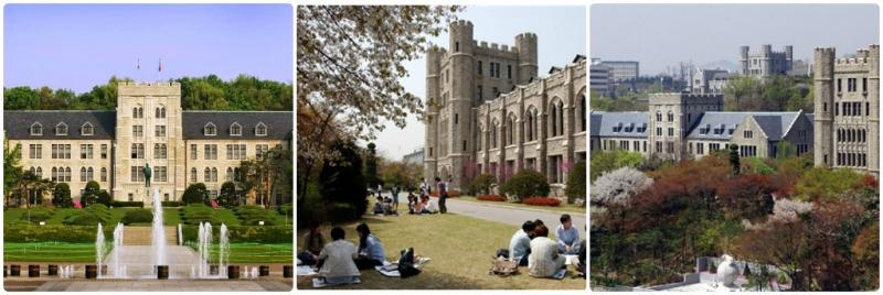 Một vài hình ảnh tại khuôn viên trường Đại học Hàn Quốc