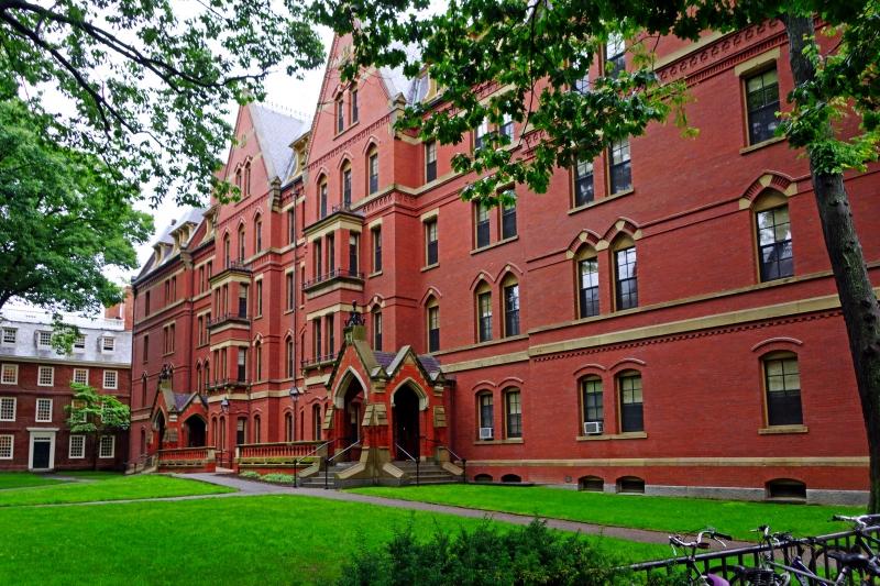 Một góc của ngôi trường lừng danh Harvard