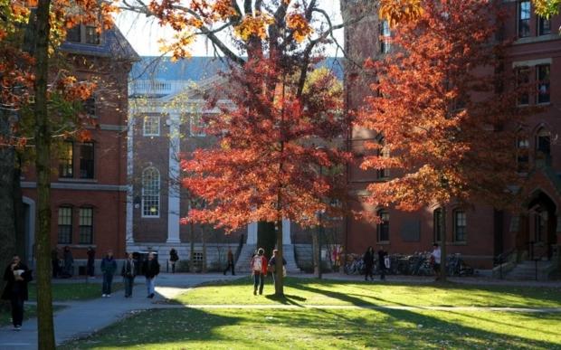 Mùa thu ở Đại học Harvard