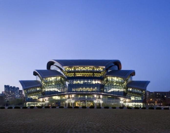 Kiến trúc độc đáo của Đại học Sungkyunkwan