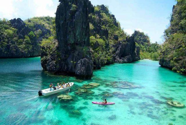 Đảo Palawan có hình dáng độc đáo