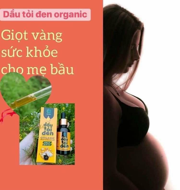Dầu tỏi đen Organic