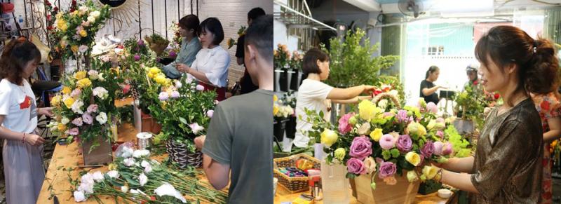 Top 4 Địa chỉ dạy cắm hoa đẹp nhất tại TP. HCM