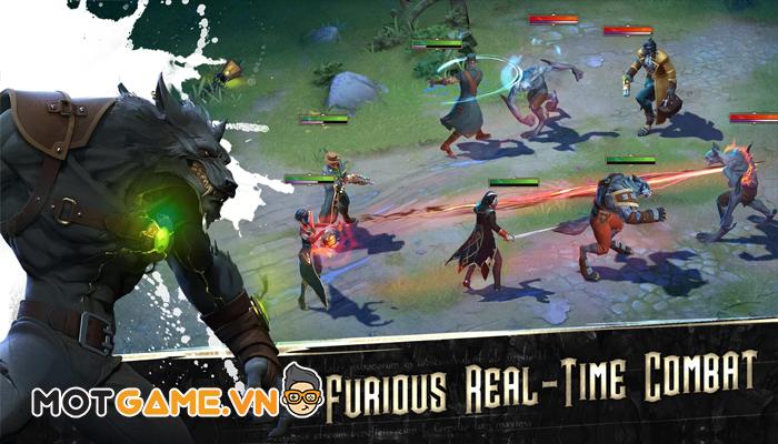 Heroes of the Dark nơi xuất hiện liên minh đa chủng loài trở thành anh hùng