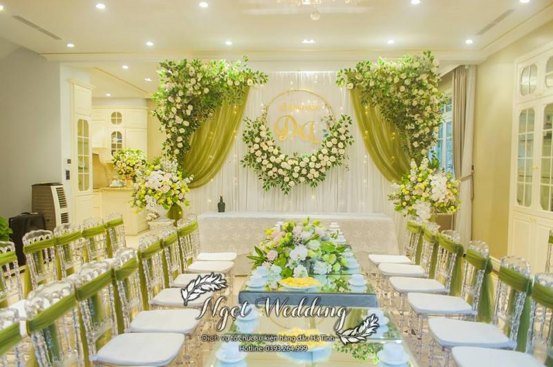 Top 6 Dịch vụ trang trí tiệc cưới đẹp và uy tín nhất tỉnh Hà Tĩnh