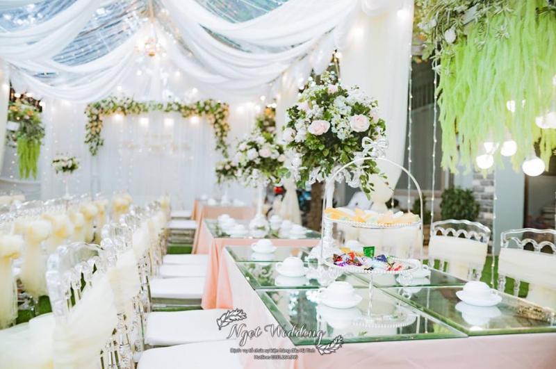 Dịch vụ trang trí tiệc cưới Ngọt Wedding Planner