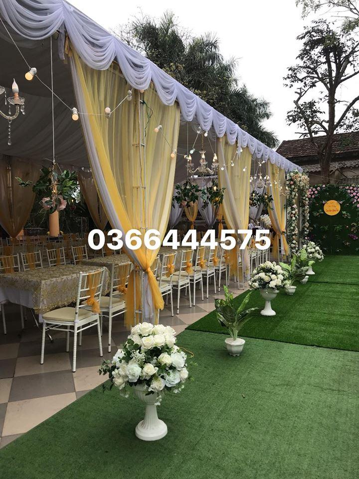 Dịch vụ trang trí tiệc cưới Quang Hoa