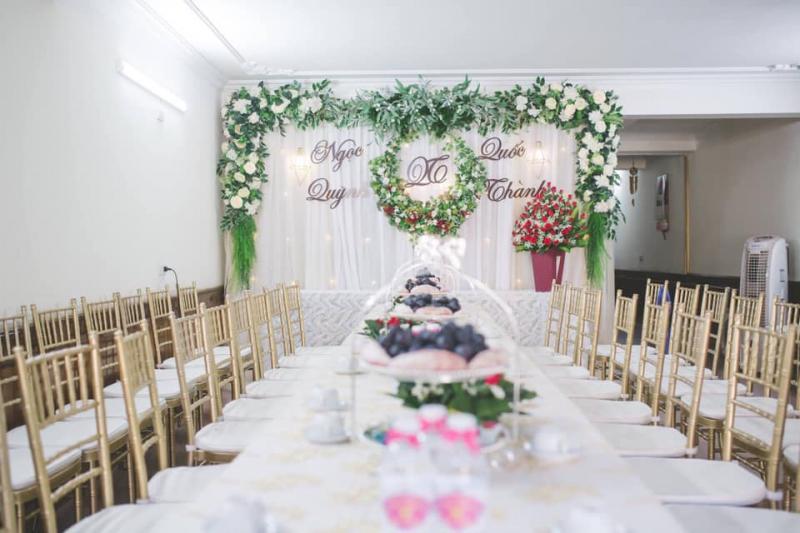 Dịch vụ trang trí tiệc cưới Rạp Cưới Nga Giao