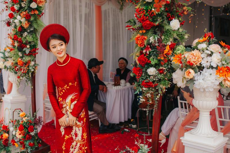 Top 5 Địa chỉ thuê áo dài cưới hỏi đẹp nhất Điện Biên