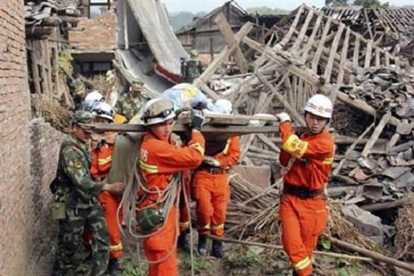 Sức tàn phá khủng khiếp của trận động đất Tứ Xuyên