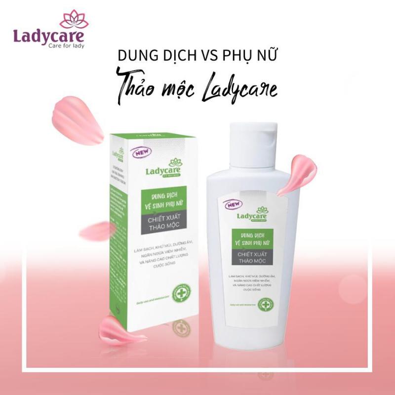 Dung dịch vệ sinh phụ nữ laClé Ladycare thảo mộc