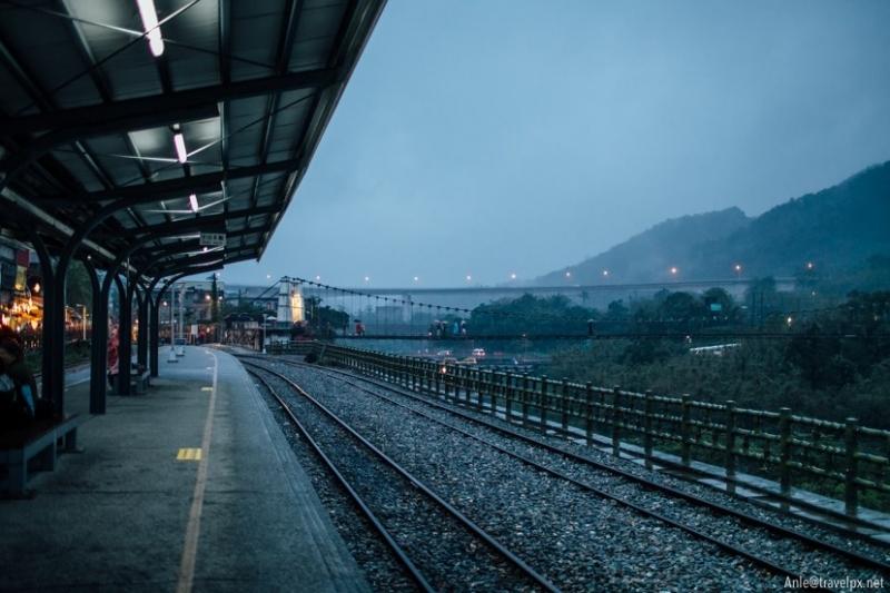 Đường ray Pingxi ở Shifen