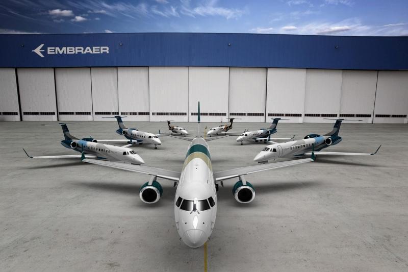 Thương hiệu máy bay Embraer