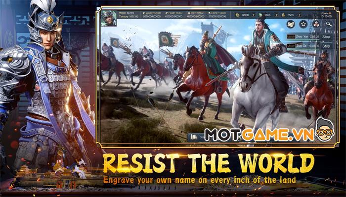 Epic War: Thrones sẽ đưa bạn trở về thời kỳ Tam Quốc loạn chiến
