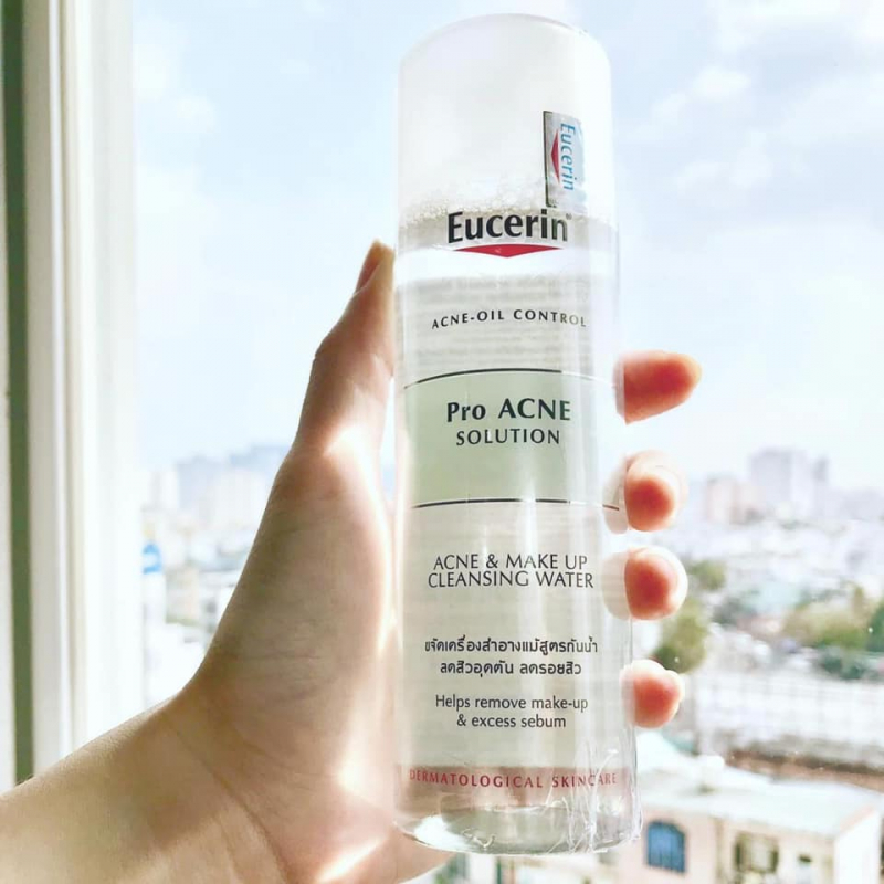 Eucerin Pro ACNE Solution Acne & Make-up Cleansing Water