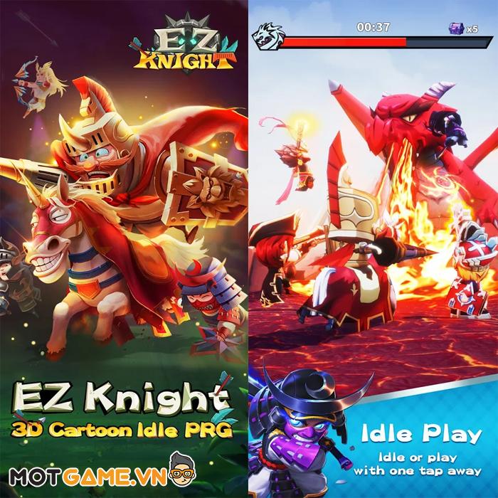 Trở thành hiệp sĩ chưa bao giờ dễ dàng đến vậy với EZ Knight
