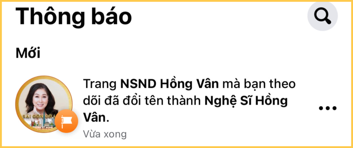 Lý do Hồng Vân xoá bỏ danh hiệu NSND khỏi trang Facebook?