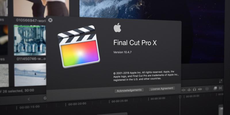 Final Cut Pro X chỉ sử dụng được trên Macbook
