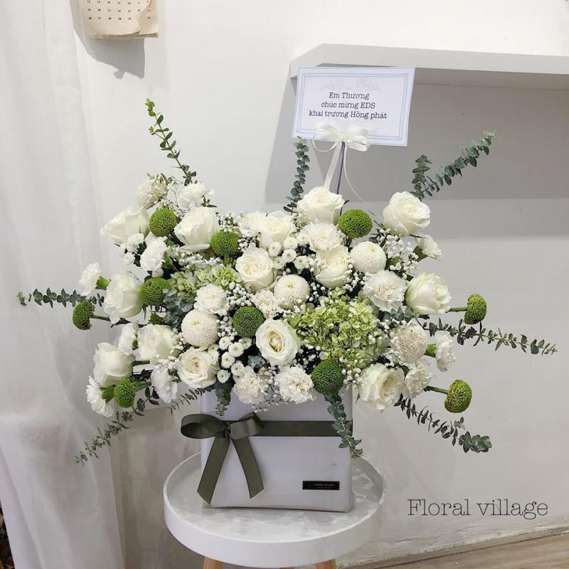 Floral village - Tiệm hoa bình yên