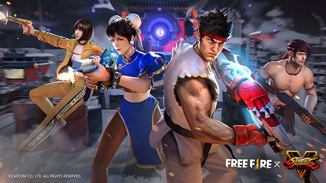 Người chơi Free Fire sẵn sàng 'tung chưởng' khi hợp tác với Street Fighter V từ ngày hôm nay!